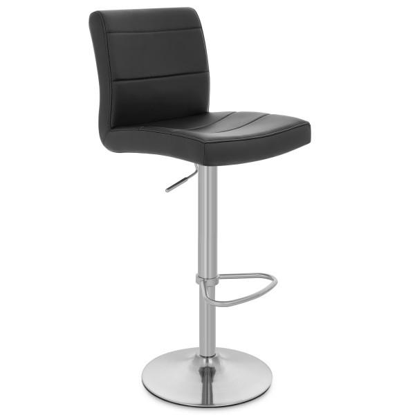 Meubles de cuisine chaise de bar en bois et cuir meubles de cuisines - Chaise de bar en cuir ...