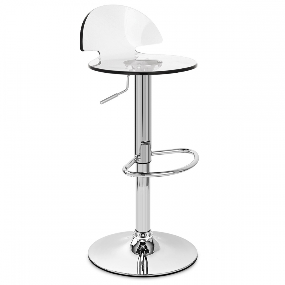tabouret de bar plastique comet monde du tabouret. Black Bedroom Furniture Sets. Home Design Ideas