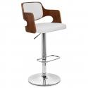 chaise de bar bois faux cuir amazon monde du tabouret. Black Bedroom Furniture Sets. Home Design Ideas