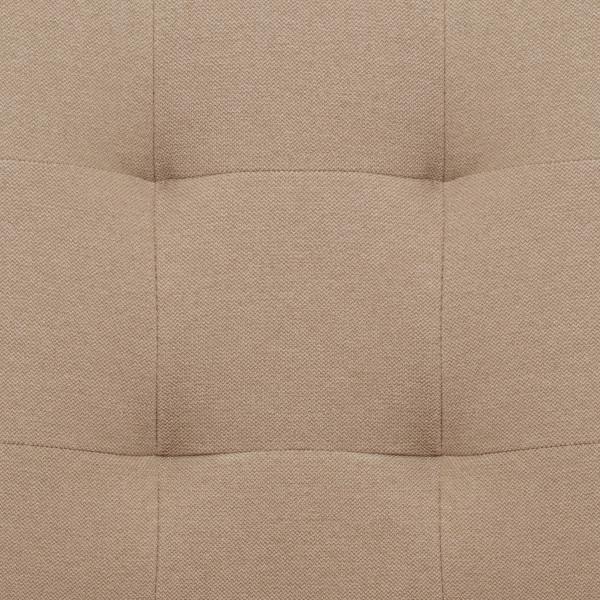 Chaise Tissu Bois - Arlington Crème