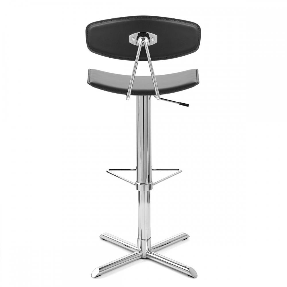 chaise de bar blade cuir crout monde du tabouret. Black Bedroom Furniture Sets. Home Design Ideas