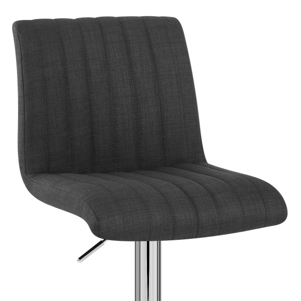 chaise de bar tissu debut monde du tabouret. Black Bedroom Furniture Sets. Home Design Ideas