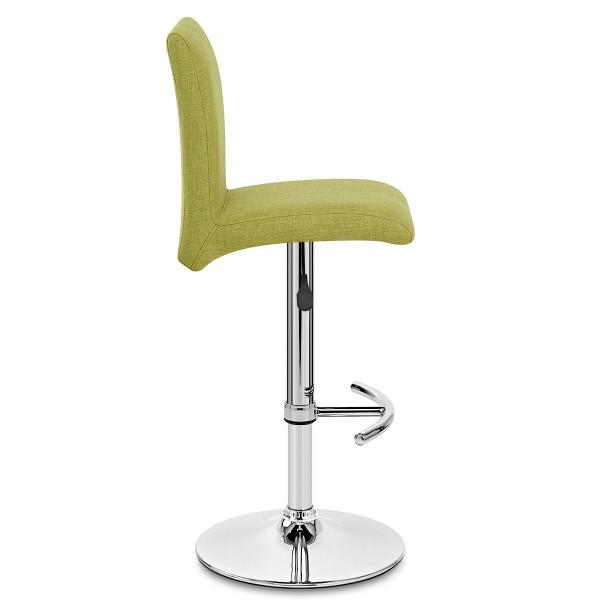 Chaise De Bar En Tissu - Deluxe High Back