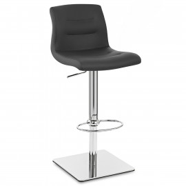 Chaise de Bar Cuir Chrome - Paradis Deluxe