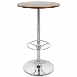 Table de Bar Chrome - Dial Ronde