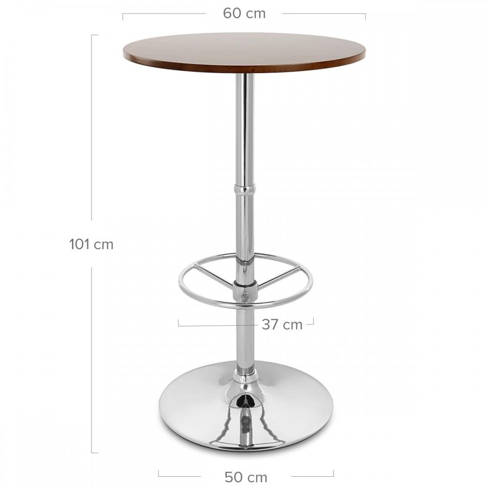 table de bar dial ronde monde du tabouret. Black Bedroom Furniture Sets. Home Design Ideas