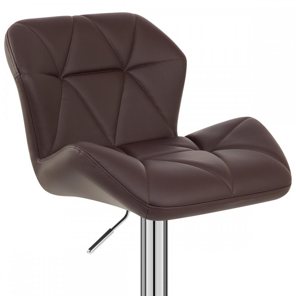 Chaise de bar simili cuir diamond monde du tabouret - Chaise de bar cuir ...