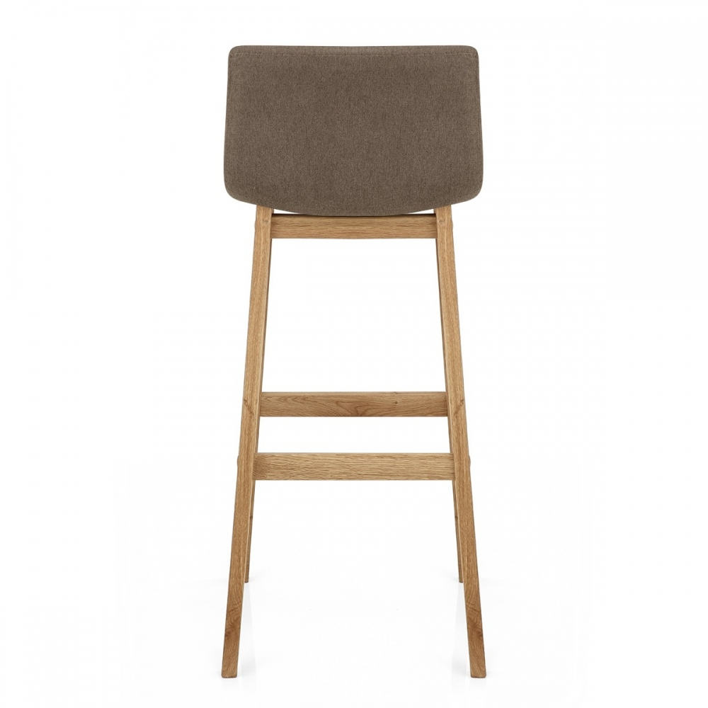 Chaise de bar Tissu Bois Drift Monde Du Tabouret