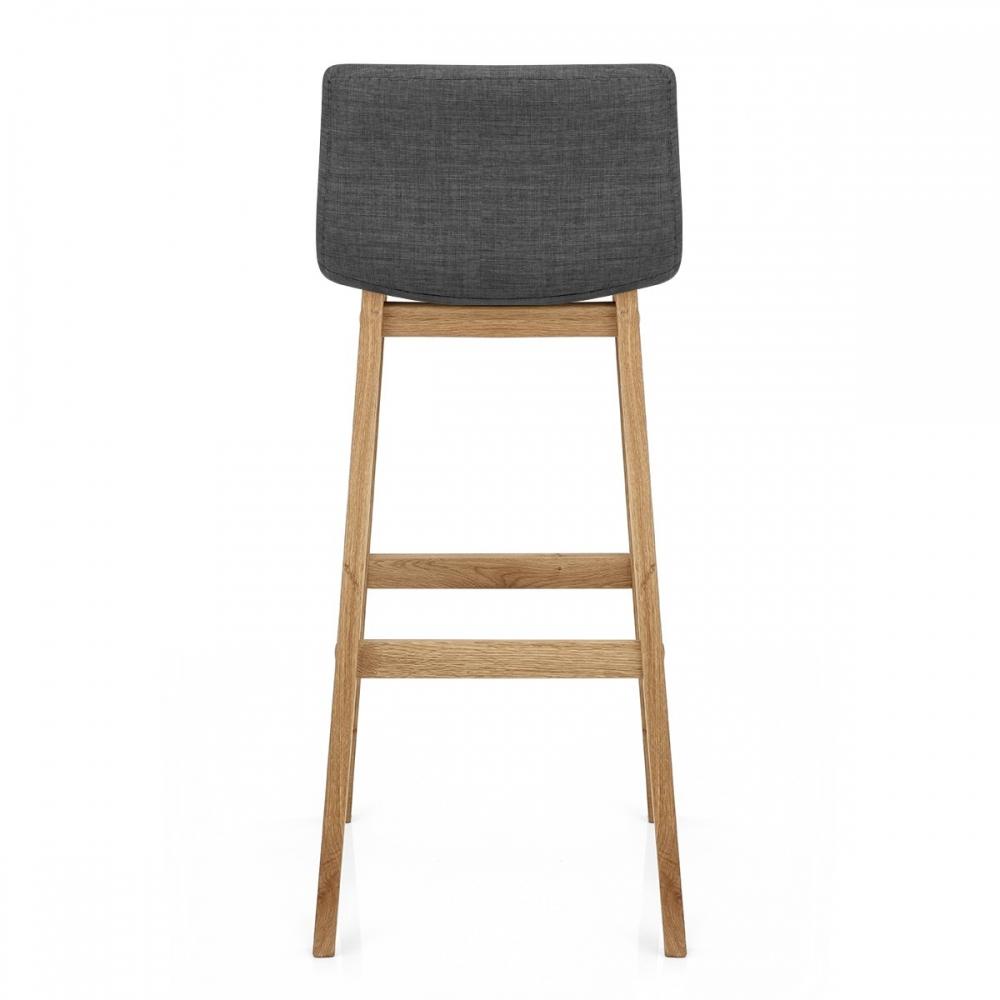 chaise de bar tissu bois drift monde du tabouret. Black Bedroom Furniture Sets. Home Design Ideas