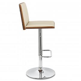 Chaise de Bar Bois Chrome - Dusk