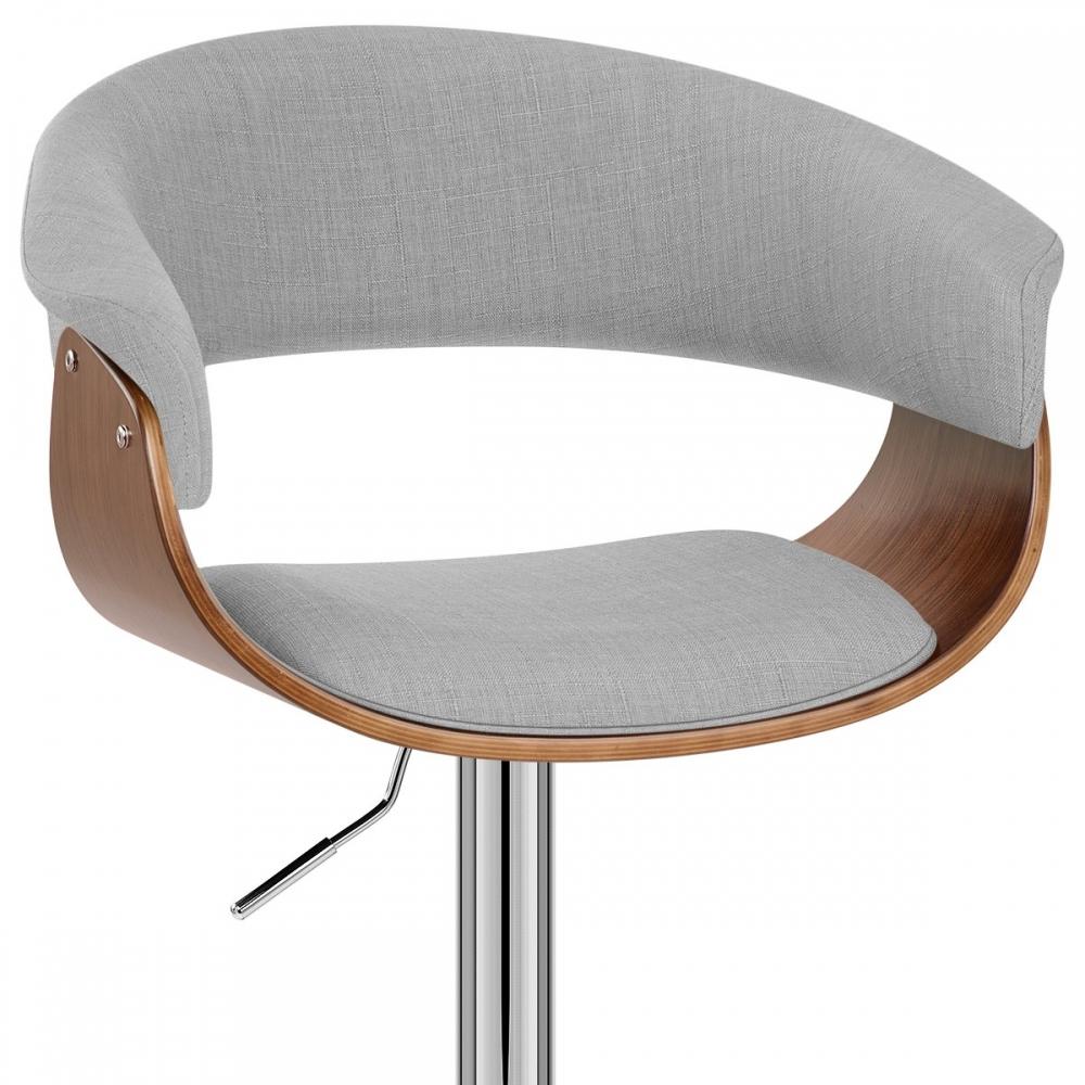 chaise de bar bois tissu grafton monde du tabouret. Black Bedroom Furniture Sets. Home Design Ideas