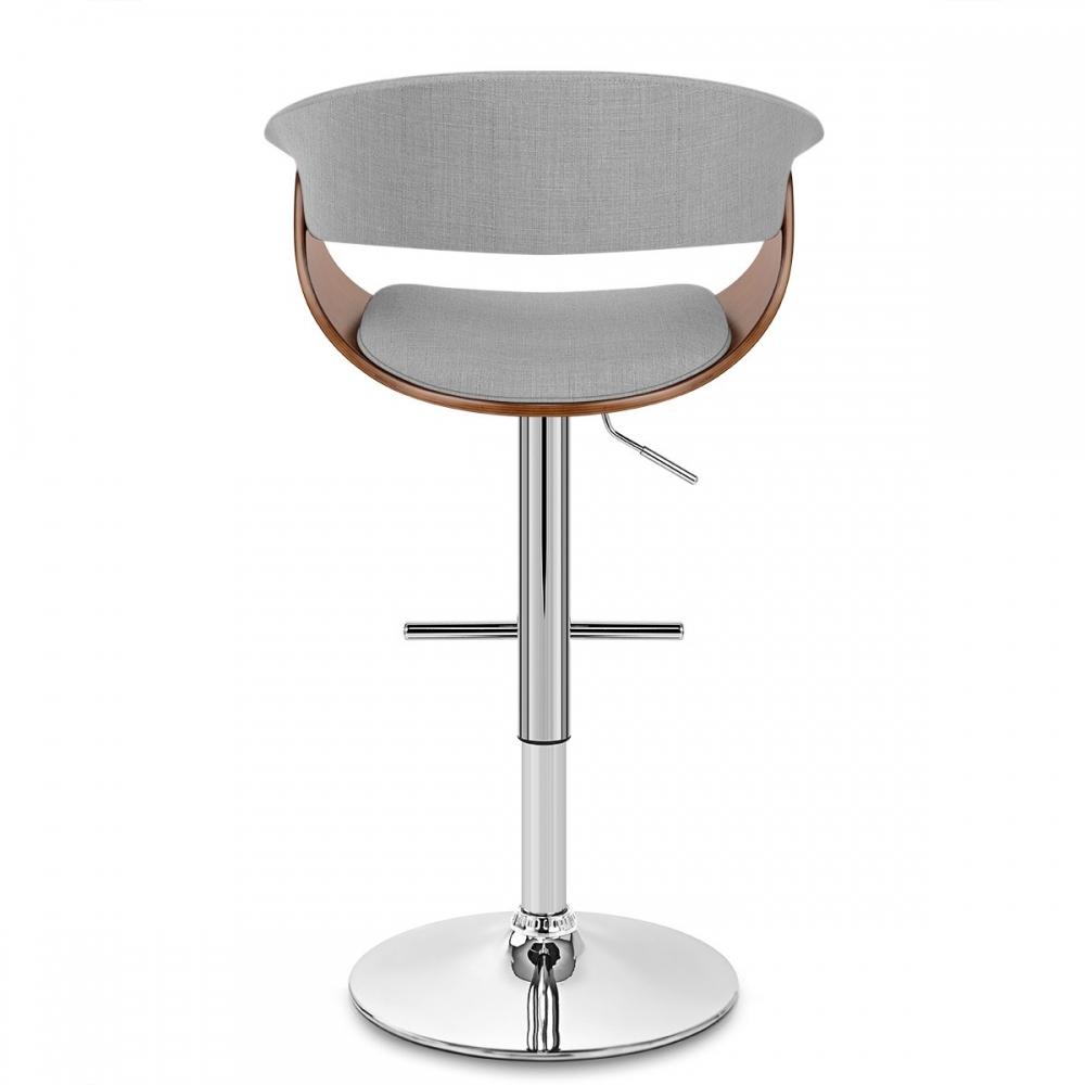 chaise de bar bois chrome