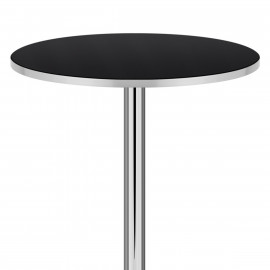 Table de Bar Chrome - Glitz
