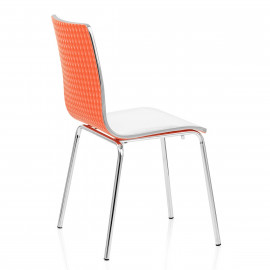 Chaise Plastique - Fresco Blanc