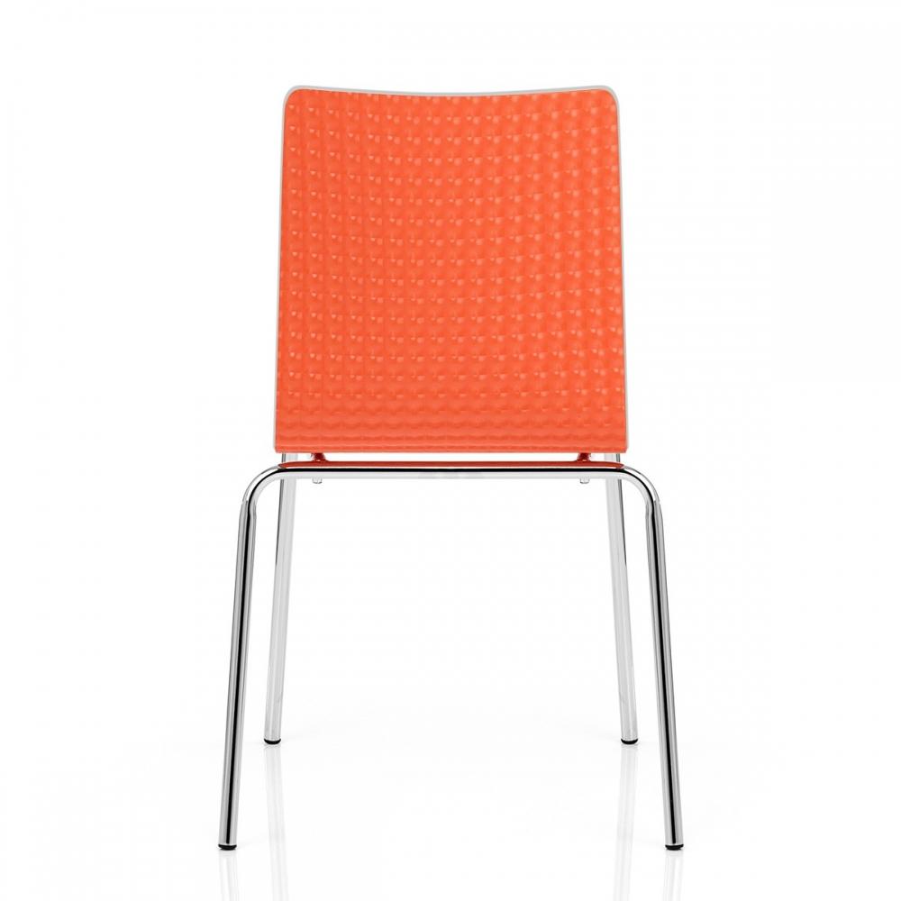 fresco chaise plastique blanc monde du tabouret. Black Bedroom Furniture Sets. Home Design Ideas