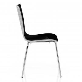 Chaise Plastique - Fresco Noir