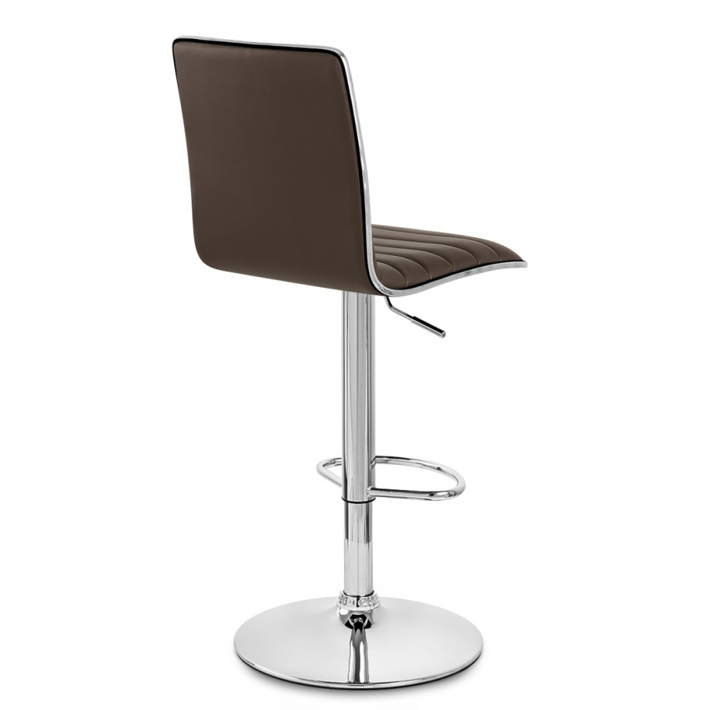 Tabouret de bar hiline chrome monde du tabouret - Chaise de bar originale ...