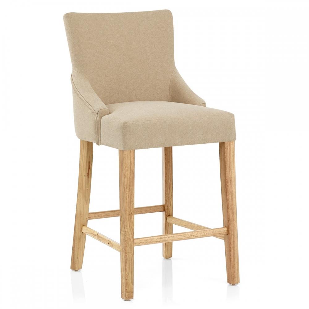 Chaise de bar bois tissu magna monde du tabouret - Chaise de bar en bois ...
