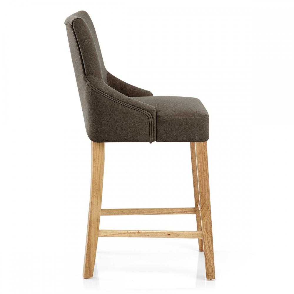 chaise de bar bois tissu magna monde du tabouret. Black Bedroom Furniture Sets. Home Design Ideas