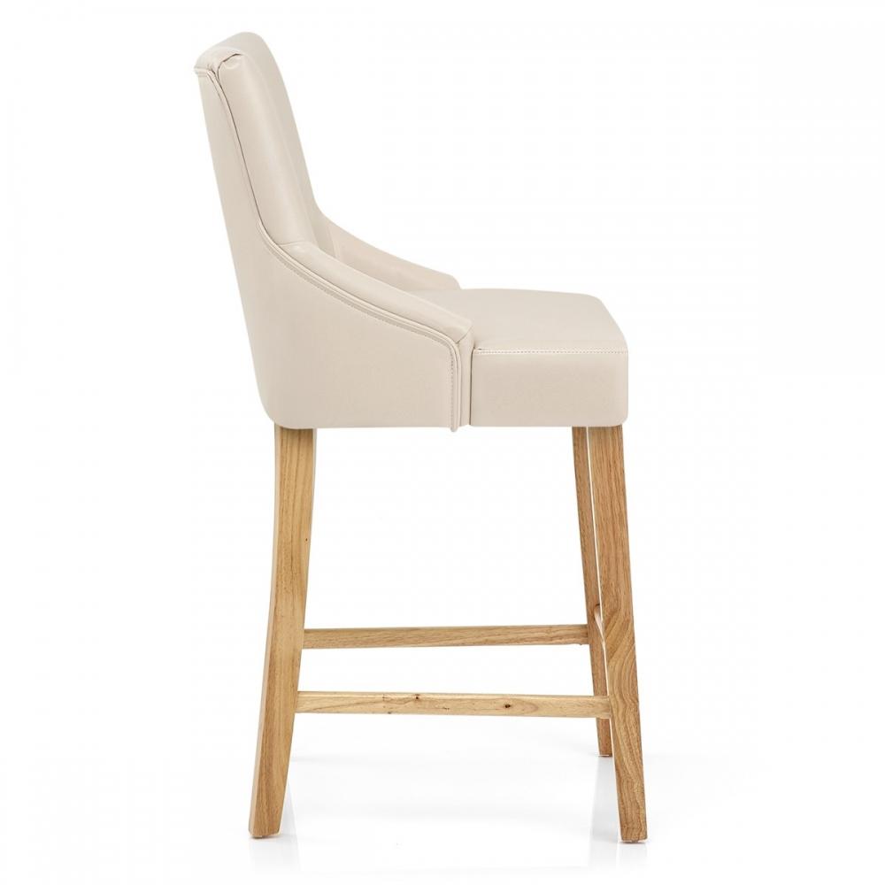 Chaises de bar en bois d coration de maison - Chaise de bar en cuir ...