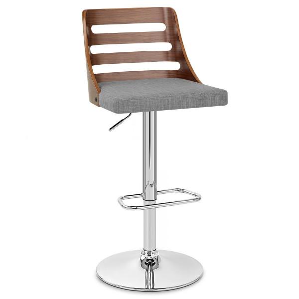 Chaise de Bar Bois Tissu - Muse