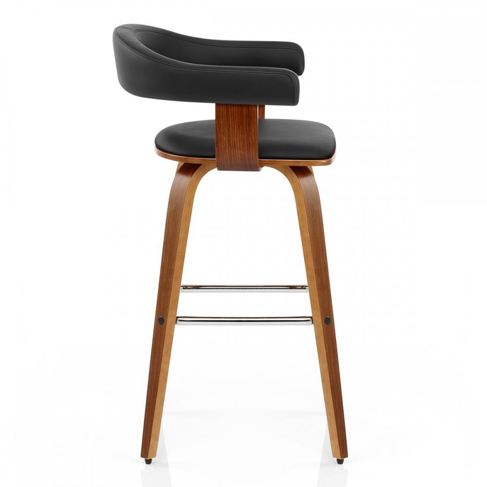 tabouret de bar bois simili cuir ontario monde du tabouret. Black Bedroom Furniture Sets. Home Design Ideas