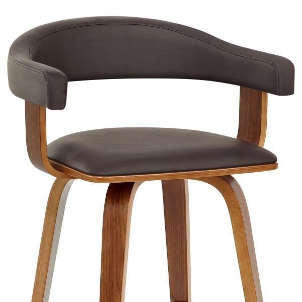 Chaise de Bar Faux Cuir Bois tario Monde Du Tabouret