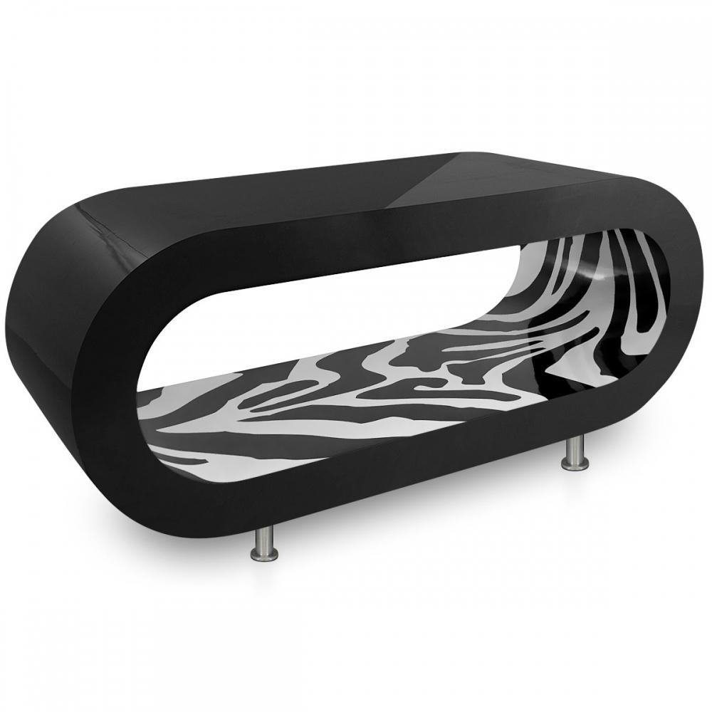 table basse noir et zebra orbit monde du tabouret. Black Bedroom Furniture Sets. Home Design Ideas