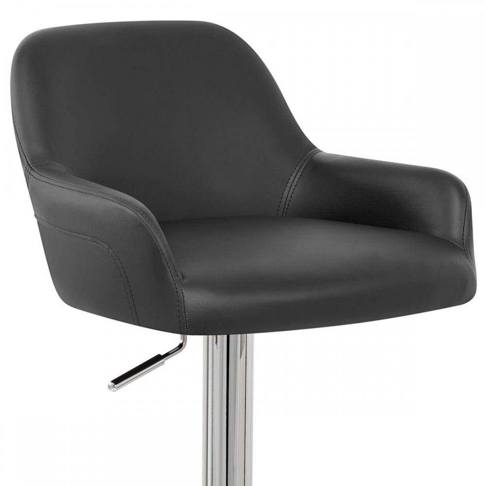 tabouret de bar faux cuir sassi monde du tabouret. Black Bedroom Furniture Sets. Home Design Ideas