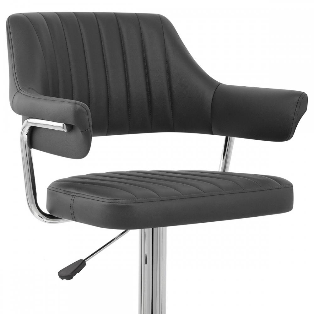 tabouret de bar faux cuir skyline monde du tabouret. Black Bedroom Furniture Sets. Home Design Ideas