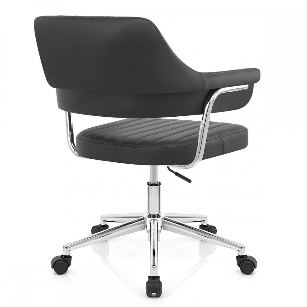 chaise de bureau skyline faux cuir. Black Bedroom Furniture Sets. Home Design Ideas