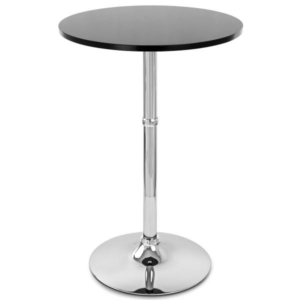 Table de Bar Chrome - Sovereign Ronde