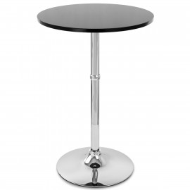 Table de Bar Chrome - Sovereign Ronde
