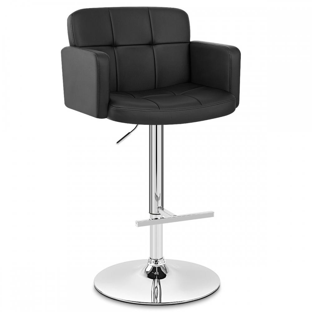tabouret de bar faux cuir studio monde du tabouret. Black Bedroom Furniture Sets. Home Design Ideas
