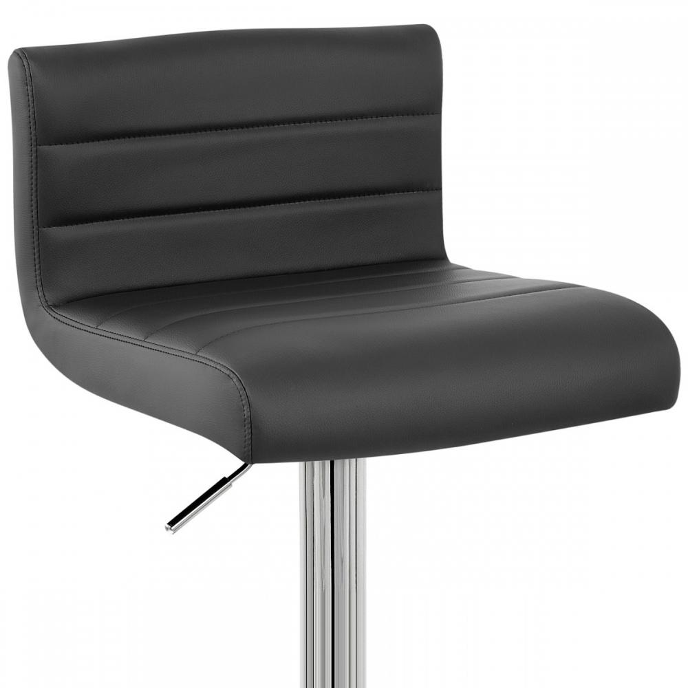 Chaise de bar faux cuir style monde du tabouret - Chaise de bar cuir ...
