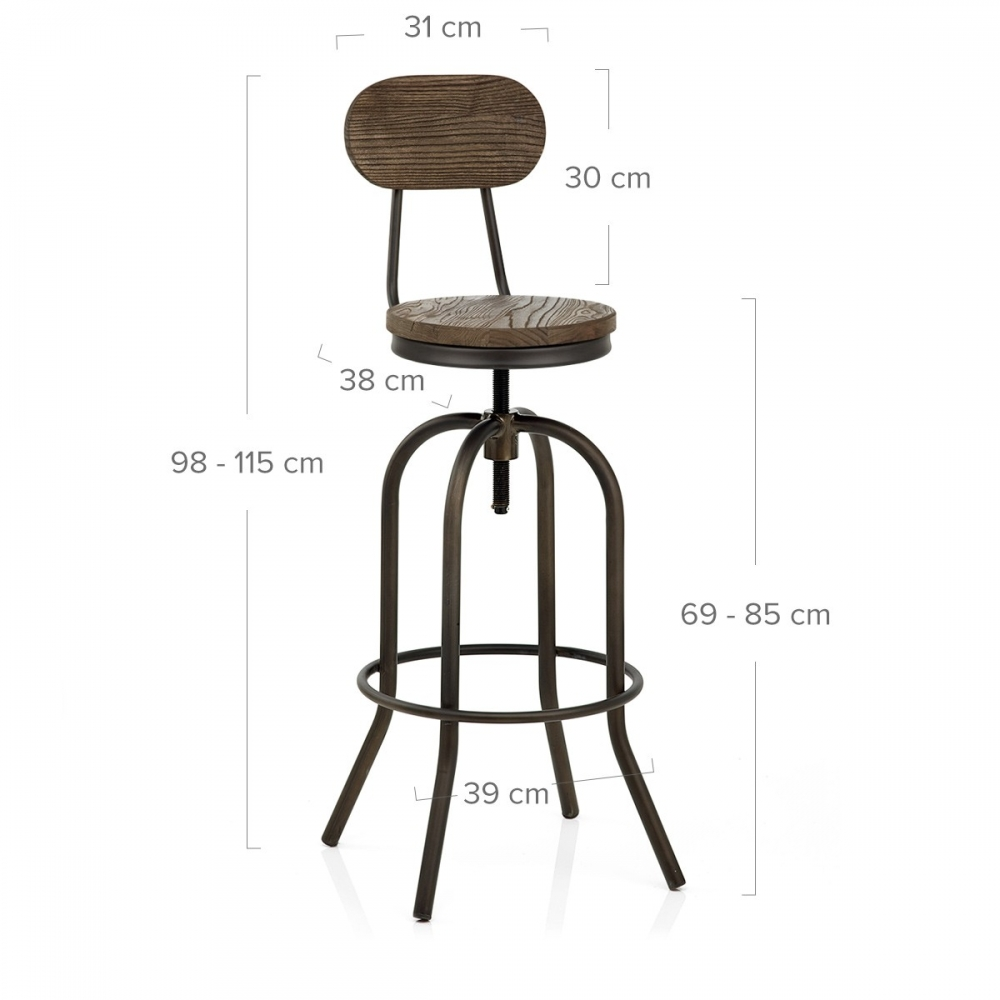 tabouret de bar assise 85 cm