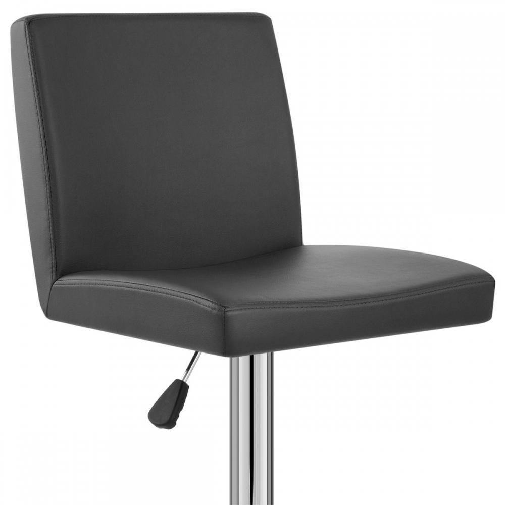 tabouret de bar faux cuir topaz monde du tabouret. Black Bedroom Furniture Sets. Home Design Ideas