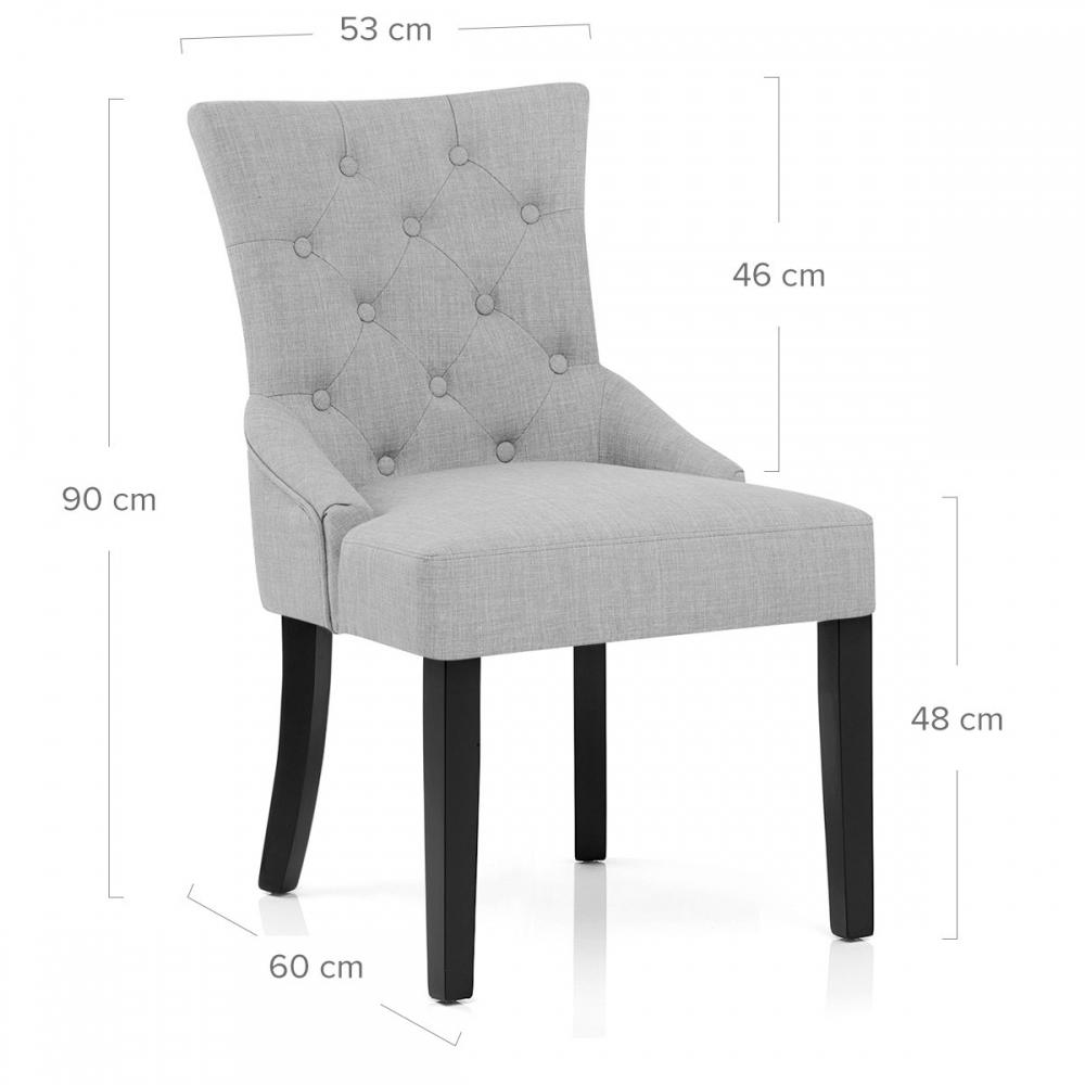 Chaise tissu noir free chaise de bureau tissu noir h jpg for Chaise zenata