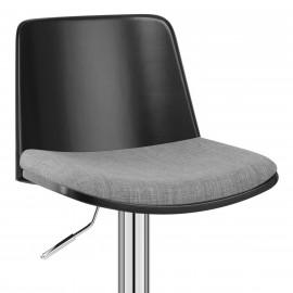 Chaise de Bar Tissu - Crest
