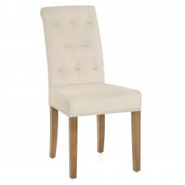 Chaise bois velours - Moreton chêne