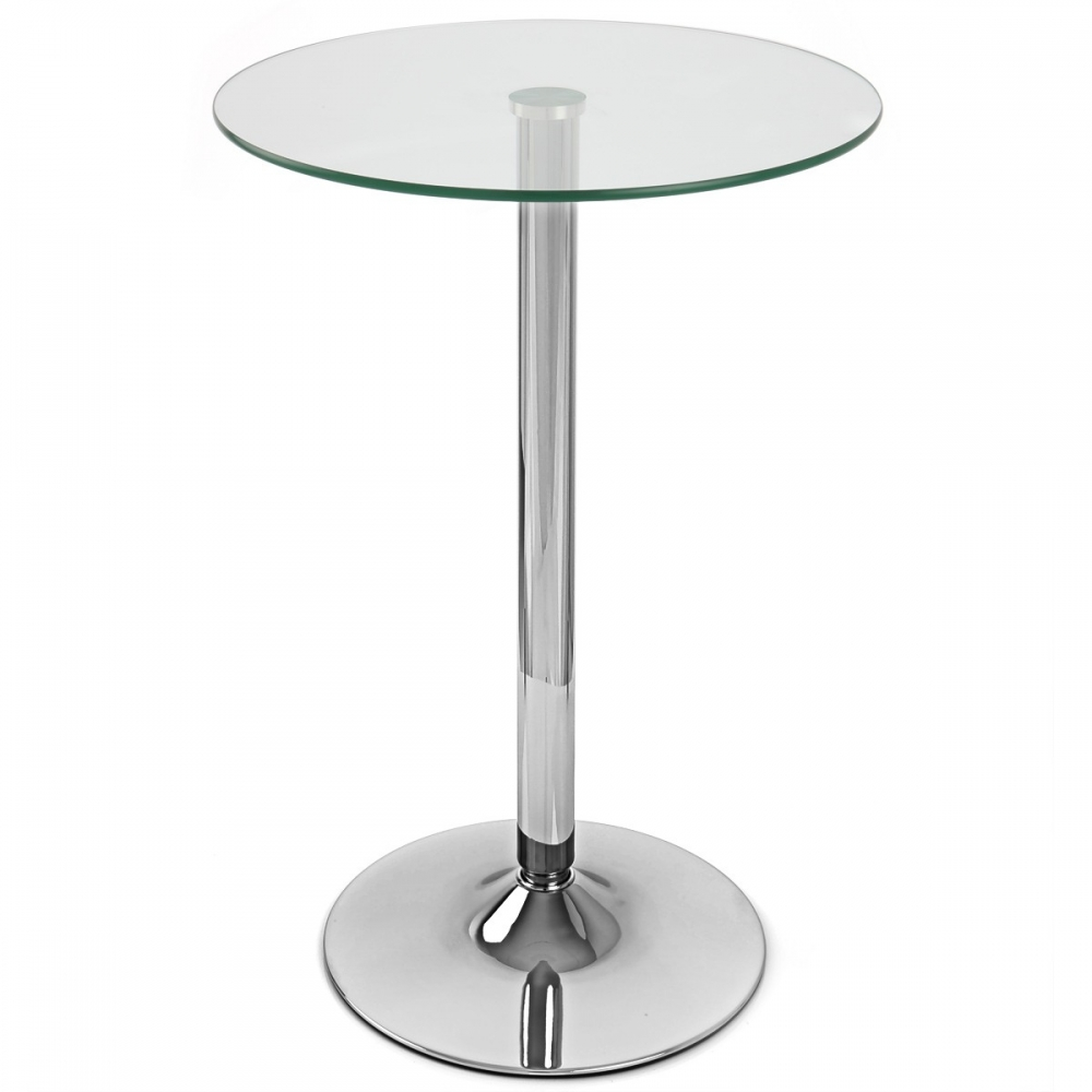 table de bar vetro ronde monde du tabouret. Black Bedroom Furniture Sets. Home Design Ideas