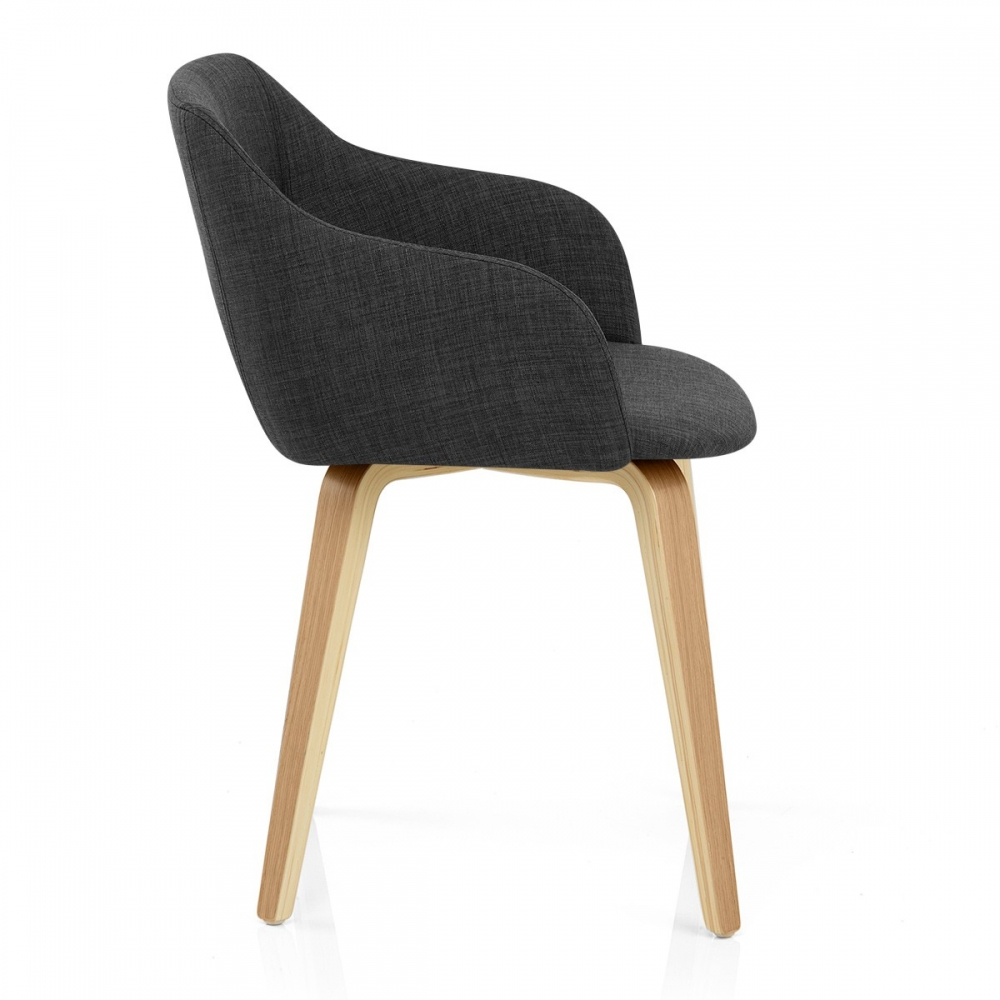 Chaise bois cuisine salon couleur gris et bois meubles de - Table et chaise en pin ...