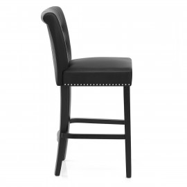 Chaise de Bar Cuir Croûté - Buckingham