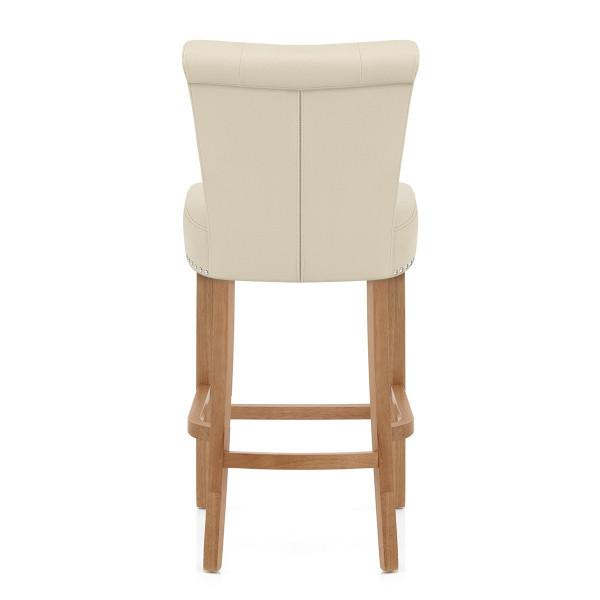 Chaise de Bar Bois - Buckingham Crème