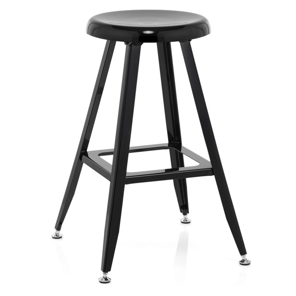 tabouret de bar style industriel onyx monde du tabouret. Black Bedroom Furniture Sets. Home Design Ideas
