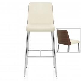 Chaise de bar chrome - Attwood