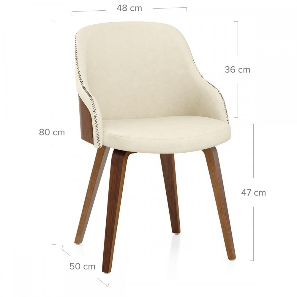 Chaise faux cuir et bois fusion monde du tabouret for Chaise simili cuir