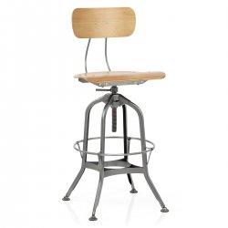 Chaise de Bar Métal - Fuse Antique