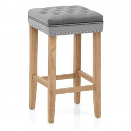 Chaise de Bar Bois Velours - Belgravia