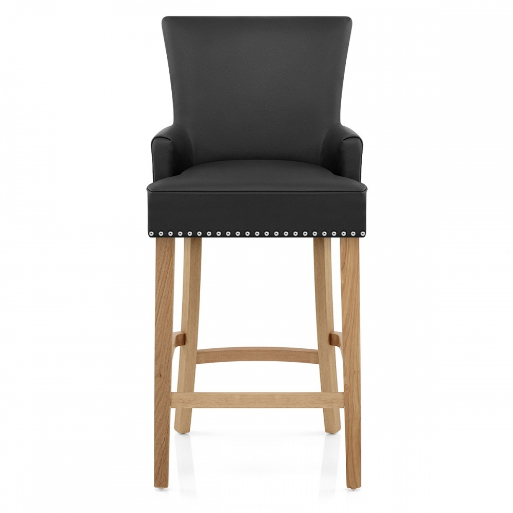 tabouret de bar cuir cro t nico monde du tabouret. Black Bedroom Furniture Sets. Home Design Ideas
